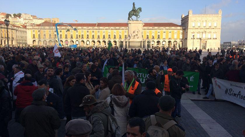 """Mundo rural """"ocupa"""" Lisboa. """"Aqui não há confederações, que têm o poder político por trás"""""""