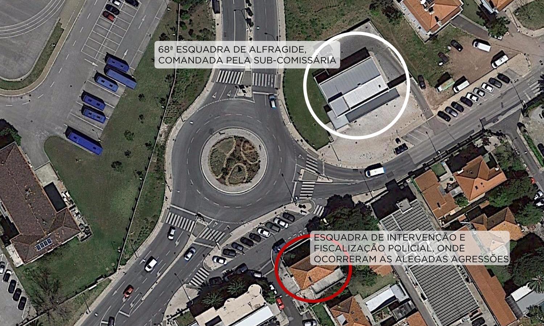 mapa cova da moura Juiz recusa suspensão imediata de 18 polícias da esquadra de  mapa cova da moura