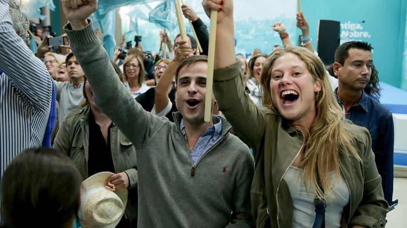 Candidato independente Rui Moreira venceu mais um mandato na Câmara do Porto. Foto: Manuel Araújo/Lusa