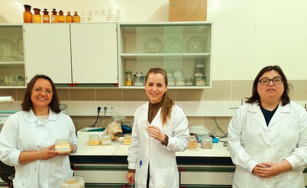 Mara Braga, Marisa Gaspar, Patrícia Almeida. Investigadoras da Universidade de Coimbra. Foto: DR