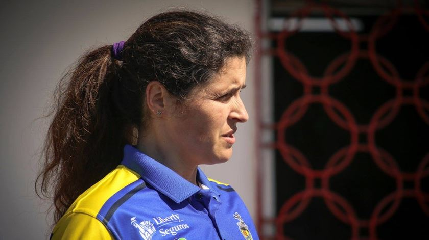 Mara Vieira aponta aos lugares cimeiros. Foto: Facebook