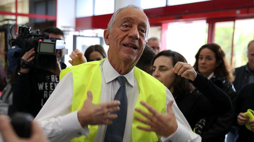 """Cimeira do Clima. """"Há países que negam evidência"""", diz Marcelo"""