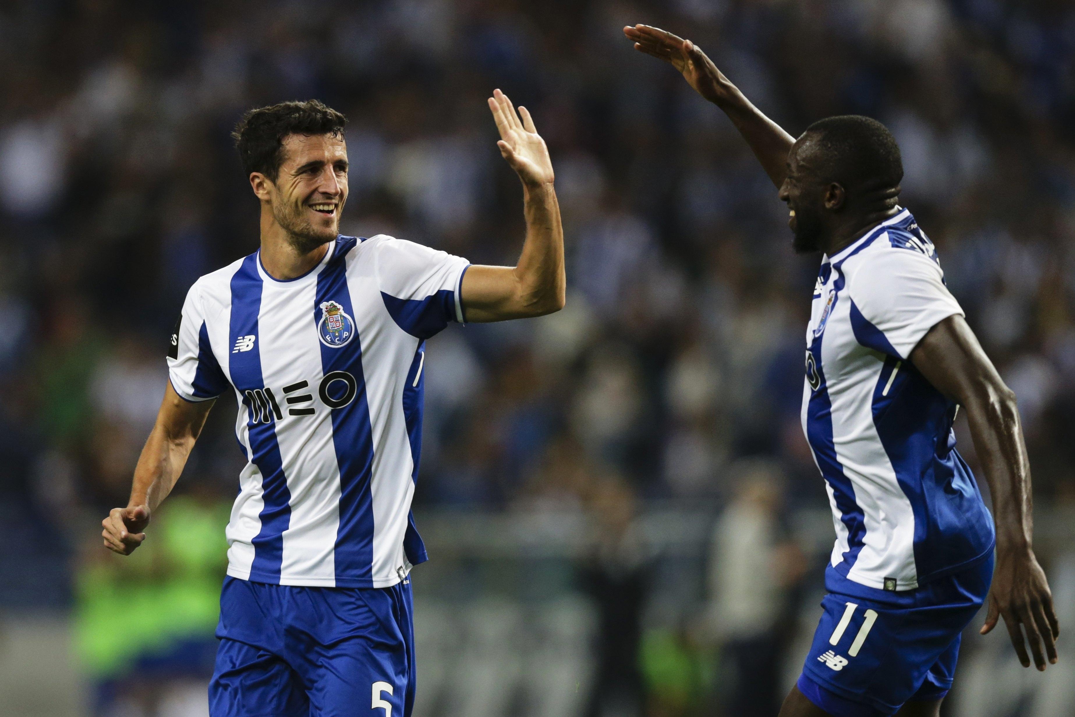 Tondela (0) perde com o Porto (1)