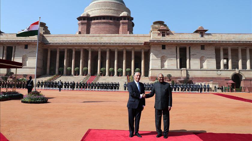 """Marcelo na Índia. Uma visita """"mais executiva"""" sem esquecer os direitos humanos"""