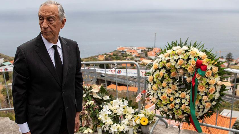 Marcelo na Madeira para homenagear vítimas do acidente de autocarro