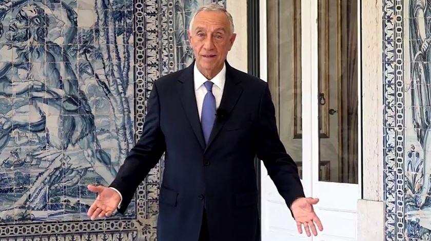 Marcelo Rebelo de Sousa dá o pontapé de saída na campanha