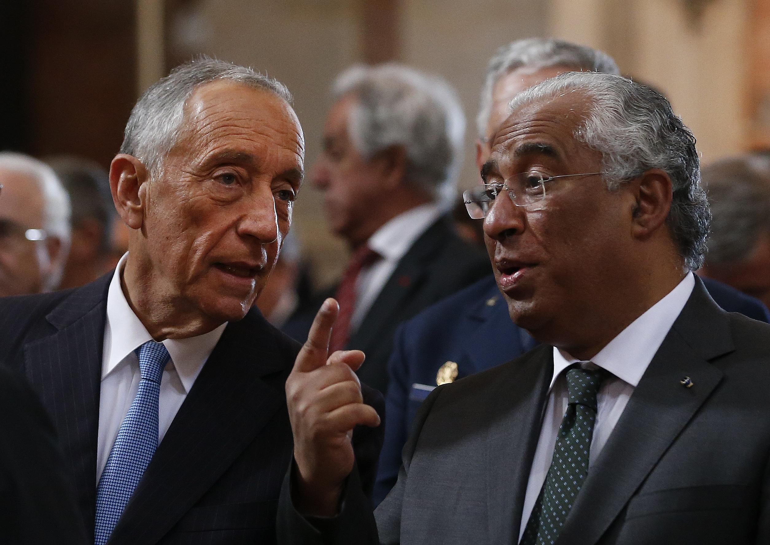 António Costa falha reunião sobre o furto em Tancos