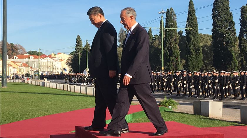 Os números e as curiosidades da visita de Xi Jinping a Lisboa
