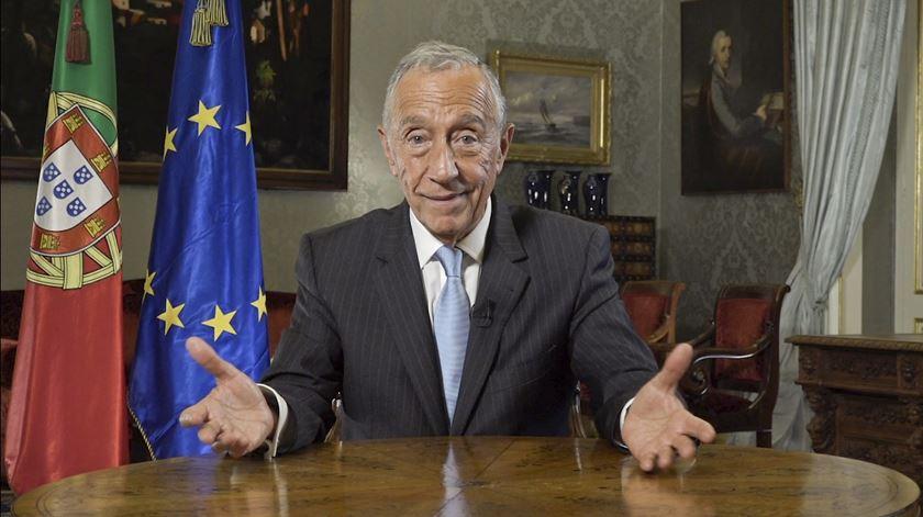 """Marcelo apela ao voto nas Europeias. """"Peço-vos esse pequeno sacrifício"""""""