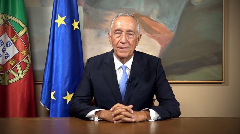 """Marcelo. Não votar nas eleições pode ser """"um descuido imperdoável"""""""