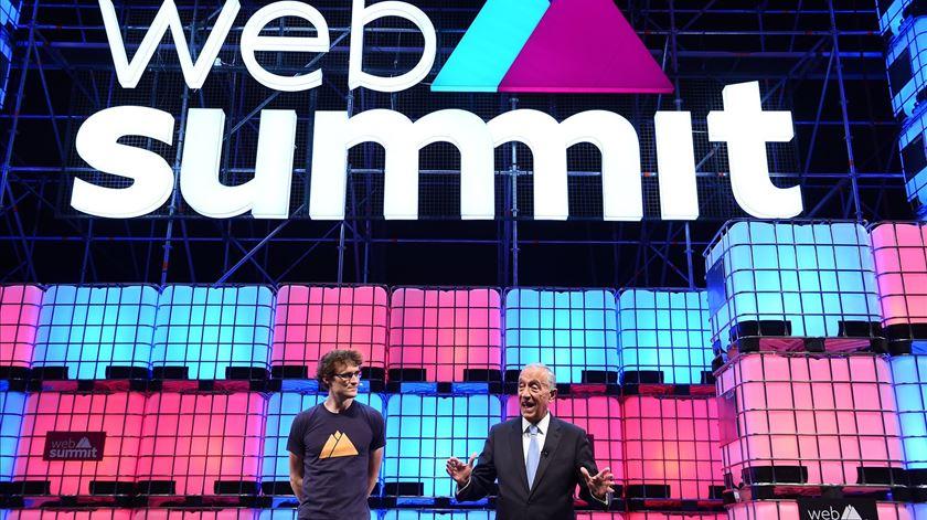 "Marcelo: ""Portugal mudou com a Web Summit"""
