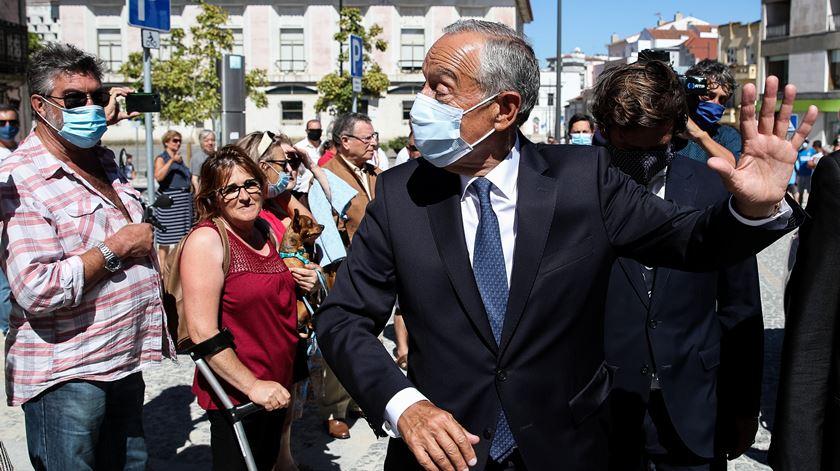 """Marcelo """"não sabe, nem quer saber"""" onde está o rei Juan Carlos"""