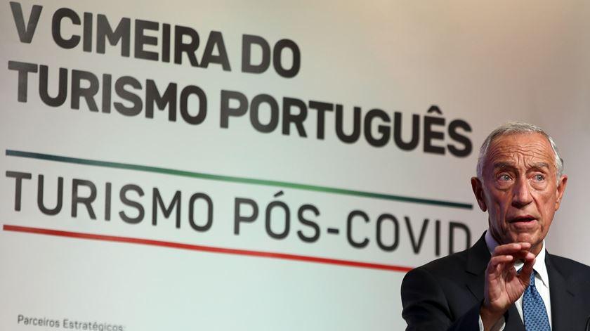 Marcelo pede aos portugueses que continuem a fazer turismo em Portugal