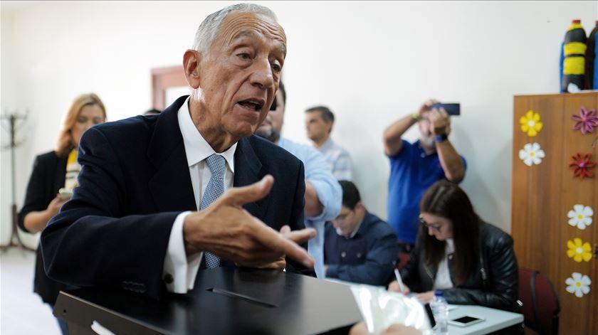 """Marcelo. """"Demitirem-se do direito de voto é um erro"""""""