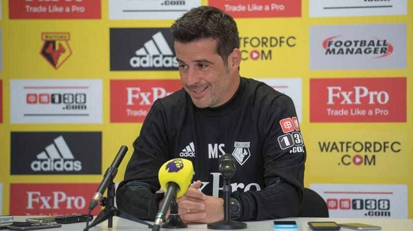 Marco Silva orientou o Watford durante metade da temporada passada. Foto: Watford