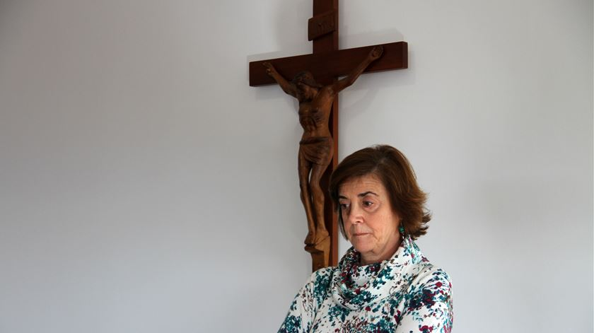 """""""É nossa missão, como médicos católicos, relembrar e fazer esta ponte com as capelanias, porque é preciso tratar do corpo mas também ter bem presente a questão da compaixão e a questão da espiritualidade."""" Foto: Manuel Costa/Ecclesia"""