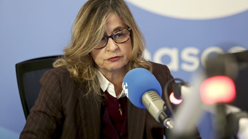 Maria Fernanda Palma, no Em Nome da Lei. Foto: Teresa Abecasis/RR
