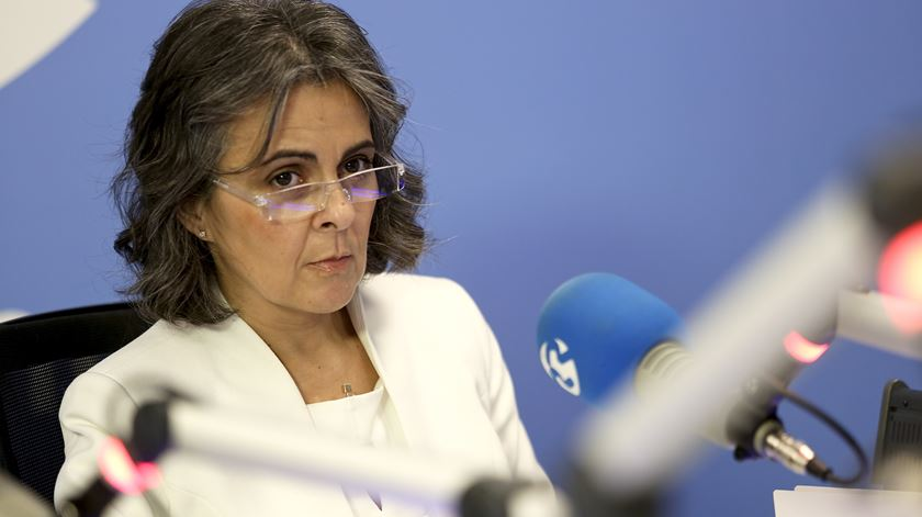 Juiza desembargadora Maria Matos. Foto: Teresa Abecasis/RR
