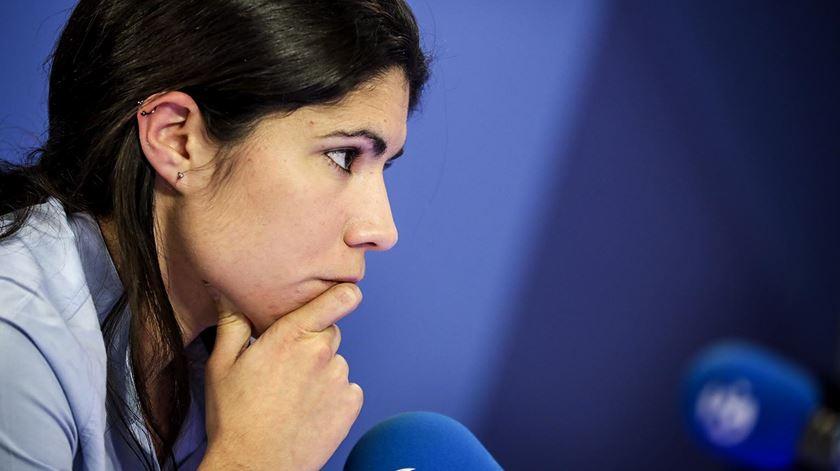 """Mariana Mortágua. """"Centeno usou uma retórica da direita, perigosa e moralista"""""""
