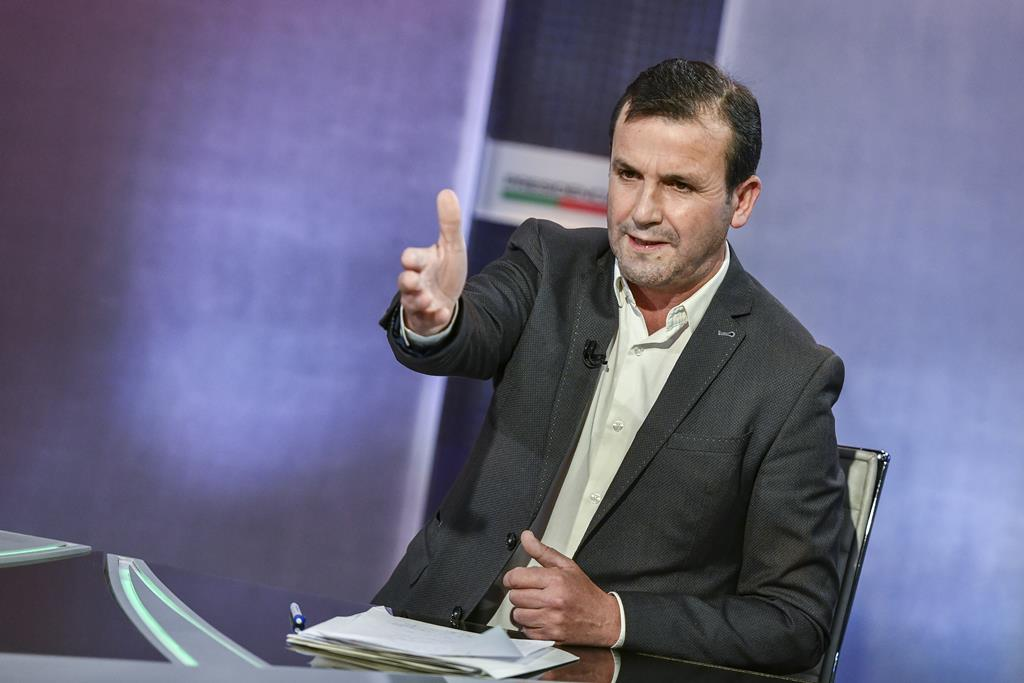 Vitorino Silva, candidato às presidenciais 2021, conhecido como Tino de Rans. Foto: RTP