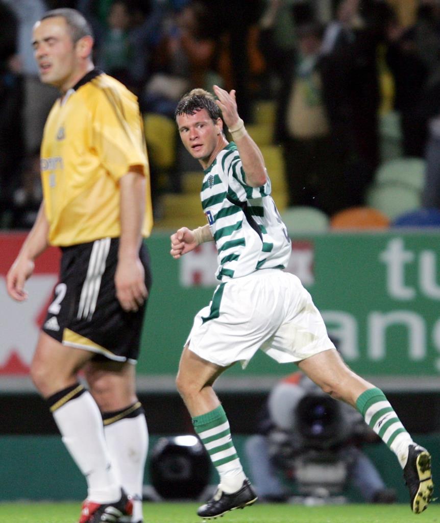 Marius Niculae esteve quatro épocas no Sporting Foto: Nacho Doce/Reuters