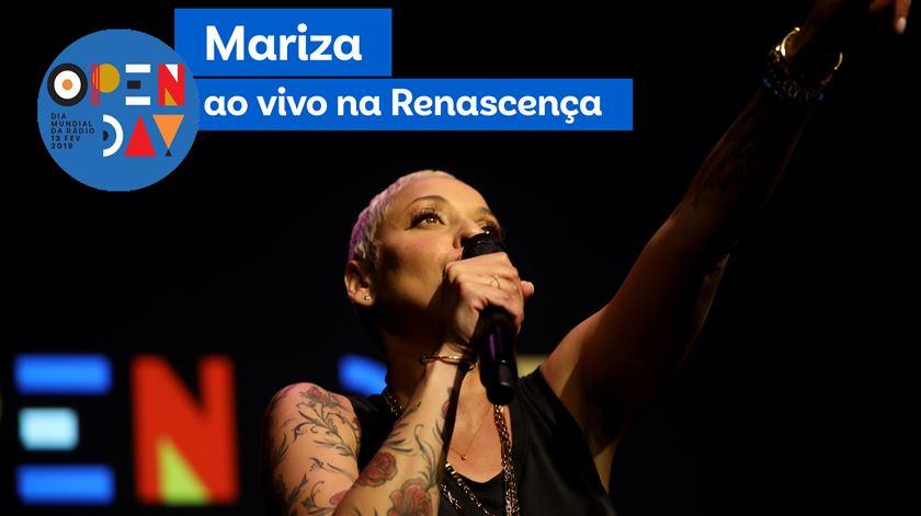 """Mariza """"Amor Perfeito"""" ao vivo na Renascença"""