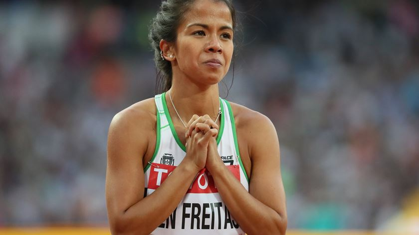Marta Pen é a esperança portuguesa nos 1500 metros. Foto: Srdjan Suki/EPA