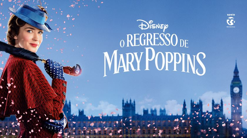 "Aqui está o trailer de ""O Regresso de Mary Poppins"""