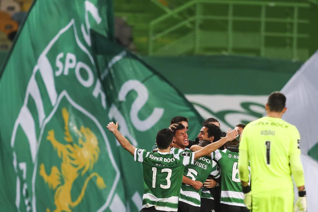Sporting pode ser campeão esta noite, se derrotar o Boavista Foto: José Sena Goulão/Lusa