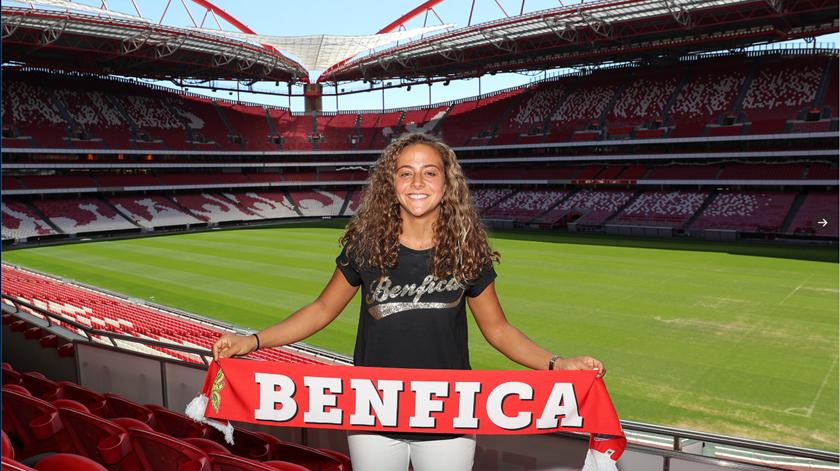 Benfica contrata Matilde Fidalgo