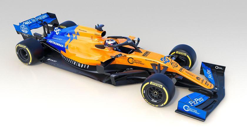 Fórmula 1. Aí está o McLaren para 2019