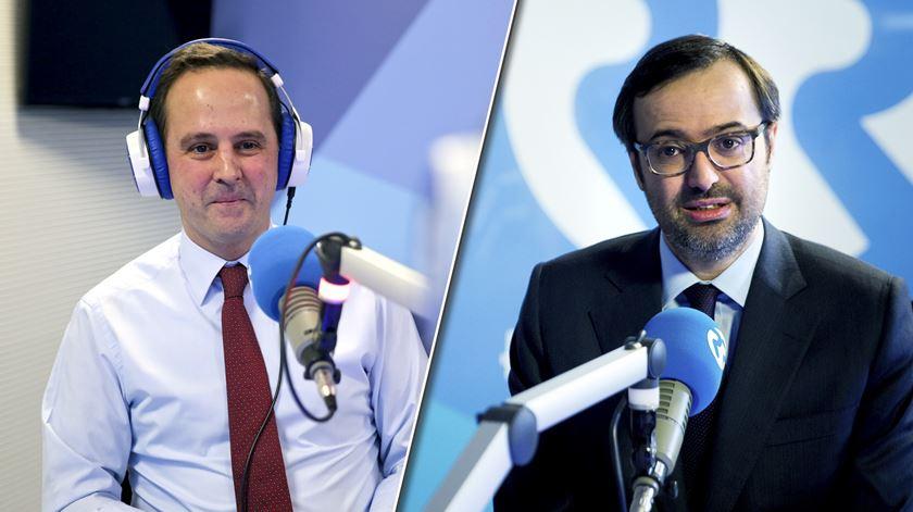 Fernando Medina e João Taborda da Gama - Medina nas Finanças, salário médio e Web Summit - 07/11/2019