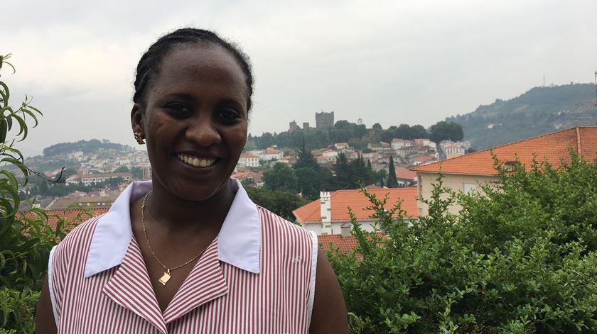 Melat, da Eritreia, encontrou refúgio em Bragança. Foto Olímpia Mairos/RR