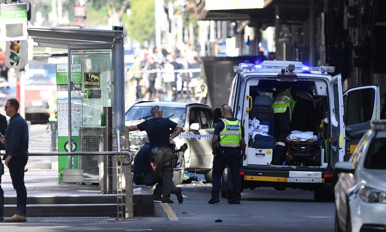 Atropelamento em Melbourne faz 14 feridos