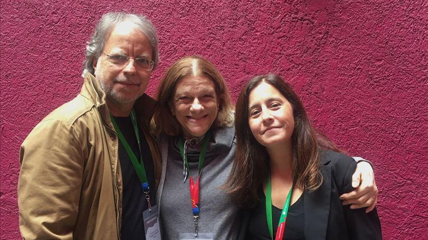 Mia Couto, Hélia Correia e Filipa Leal à conversa em Guadalajara