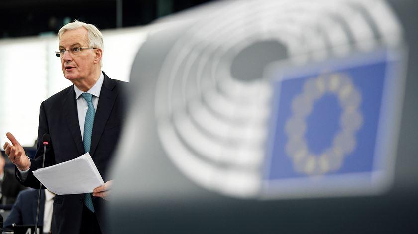 Barnier está há mais de 18 meses a negociar a saída do Reino Unido. Foto: Patrick Seeger/EPA