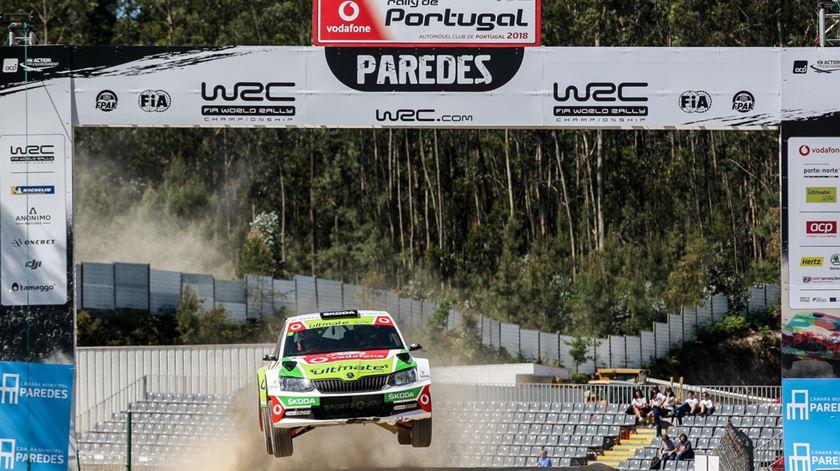 Miguel Barbosa foi o português mais rápido em Baltar. Foto: Paulo Aragão/RR