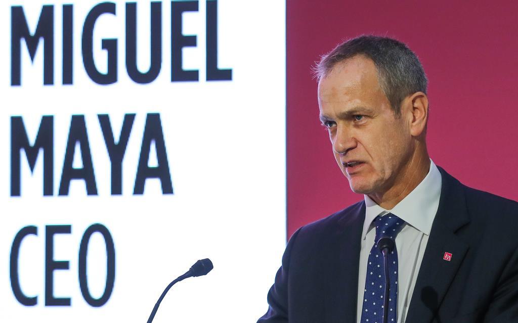 Miguel Maya, CEO do BCP. Foto: João Relvas/Lusa