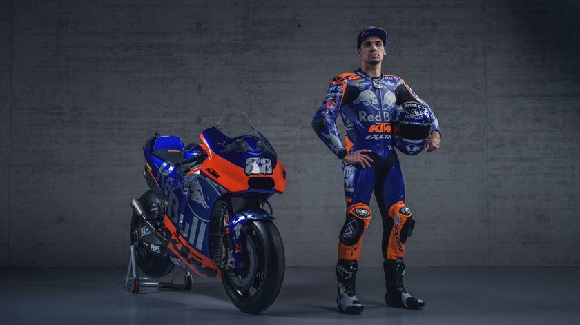 """Miguel Oliveira revela a """"máquina"""" para a estreia na MotoGP"""