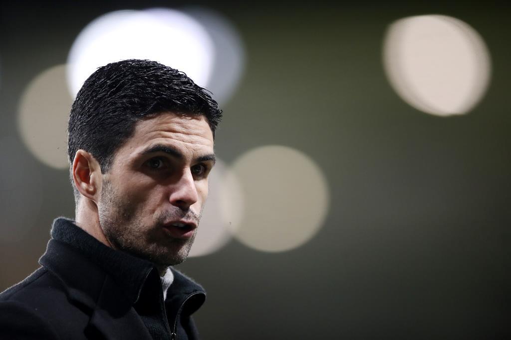 Arteta agradado com o compromisso do Arsenal. Foto: Nick Potts/Reuters