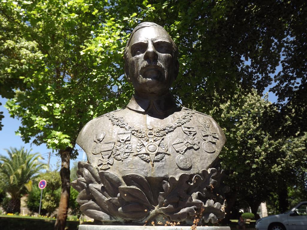 Busto do soldado Milhões. Foto: Olímpia Mairos/ RR