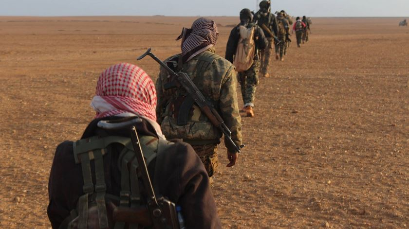 Militares das Forças Democráticas da Síria dizem-se preparadas para eventual confronto com a Turquia. Foto: Facebook YPG