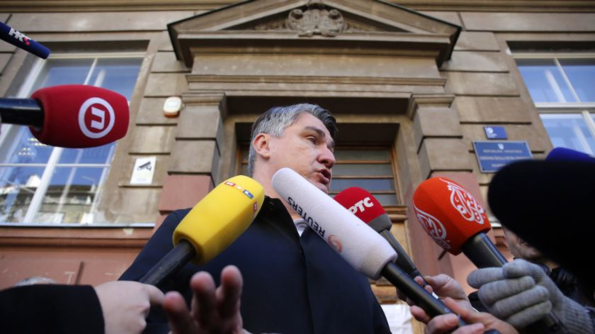 Zoran Milanovic será o próximo Presidente da Croácia, apontam projeções