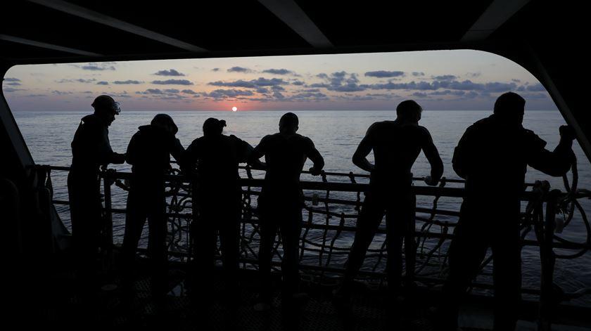 Dentro do navio português que salvou 145 vidas no Mediterrâneo
