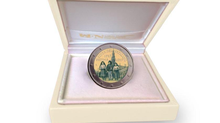 Vaticano lança moeda comemorativa de aparições de Fátima