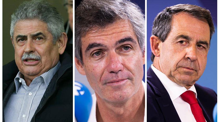 Dia de eleições no Benfica. Três candidatos, três projetos e um objetivo: ganhar