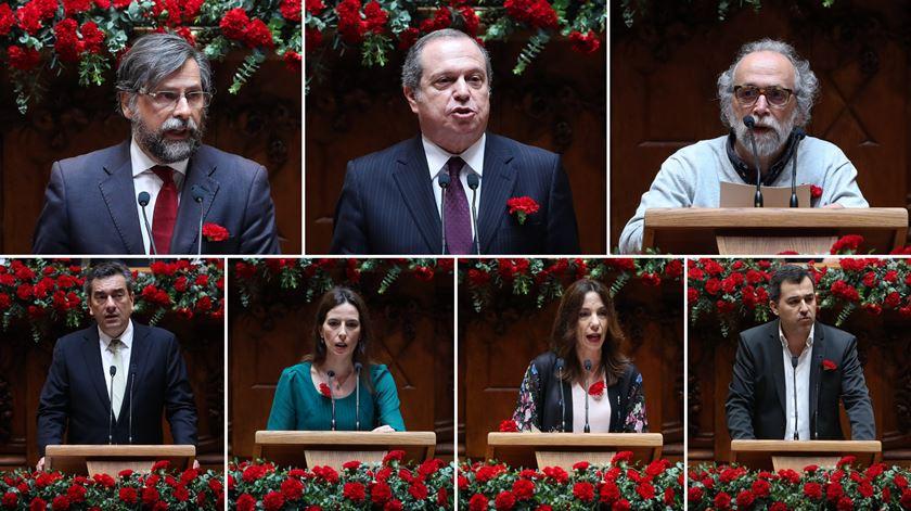 25 de Abril. O essencial dos discursos na Assembleia da República em 15 frases