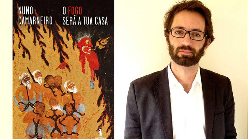 Este é o terceiro romance de Nuno Camarneiro. Foto: DR