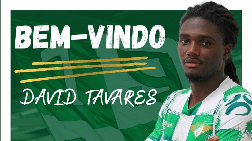 Moreirense anuncia contratação de David Tavares