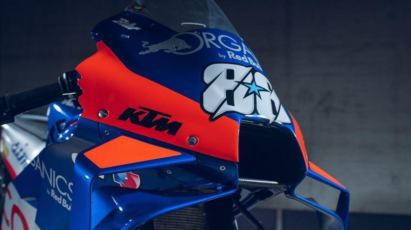 KTM e Tech3 apresentam a mota de Miguel Oliveira para 2020